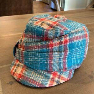 pistil NWOT Plaid Short Bill Hat